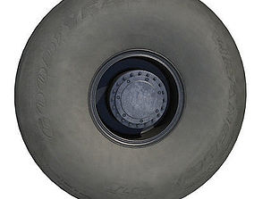 Detailed Goodyear Tire 3D
