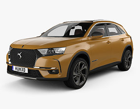 DS 7 Crossback with HQinterior 2017 3D model