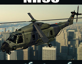 NH90 helicopter GER 3D