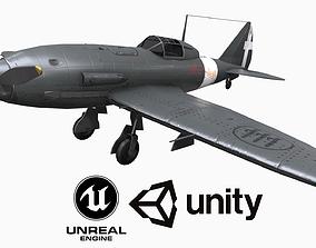 Plane Reggiane Re 2005 3D asset