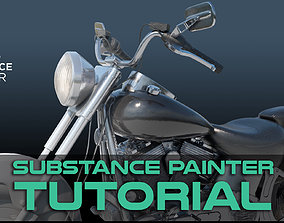 3D Substance Painter Tutorial - All Levels substance