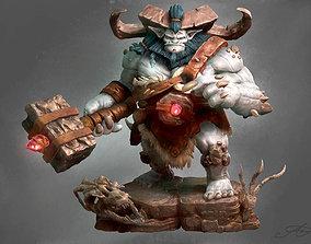 Ogre Bugbear WOW Fanart 3D print model