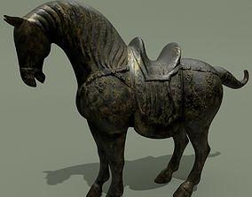 Horse Statuette S 3D model
