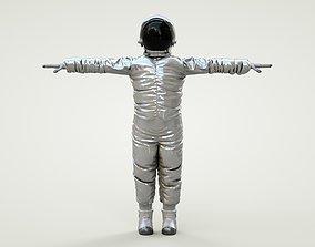 3D asset Spacesuit Astronaut Rig Character - Astronauta