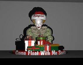 Pennywise Christmas With Presents 3D printable model