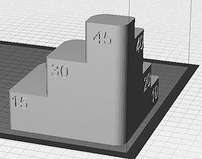 3D printable model Sine Plate Setup