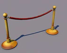 Simple barrier 3D print model