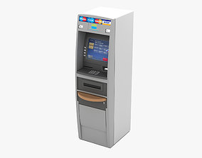 robot ATM Machine 3D
