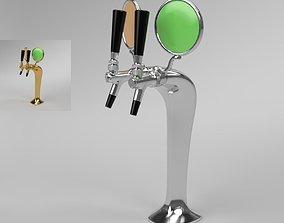 Beer Tower Cobra 2-way Blender Cycles 3D model
