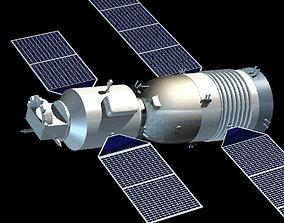 3D model Shenzhou orbiter