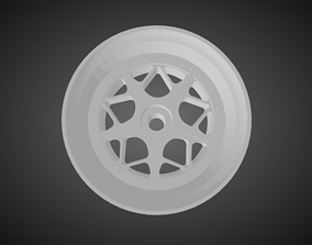 Rotiform LGB rims for Hot Wheels 3D print