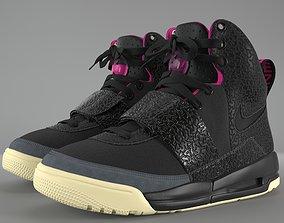 Nike Air Yeezy 1 Blink PBR 3D asset