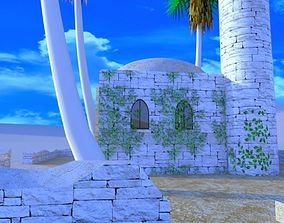 The Desert Mosque 3D model