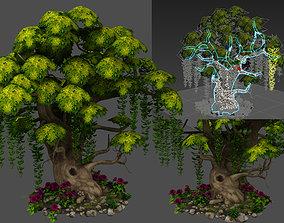 3D tree flora