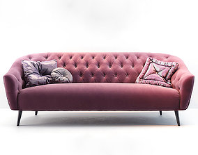 3D model Busnelli Amouage Sofa SL velour