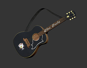 Elvis Presley Guitars 3D model