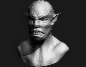 3D print model Orc Head