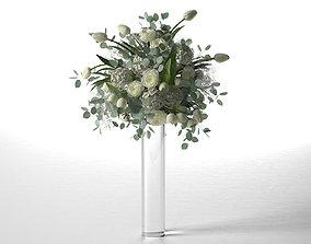 3D model Wedding Centerpiece tall