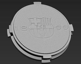 3D printable model Decorative FC Barcelona Base Stand for