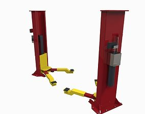 Hydraulic lift 3D model VR / AR ready