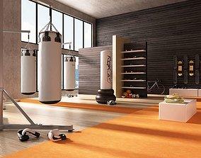 Sport Equipment Collection 3D model