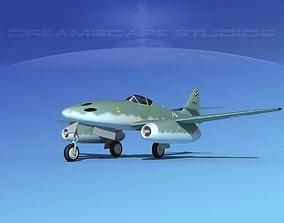 3D model Messerschmitt ME-262A1 Swallow V03