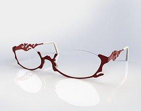 Optical frame 3D model