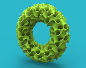 gyroid tube complex geometry 3D printable model