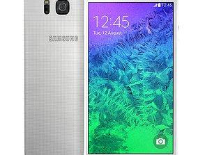 Samsung Galaxy Alpha Dazzling White 3D