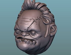 Pudge head 3D printable model