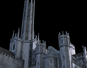 middleages 3D model Fonthill Abbey Ruins