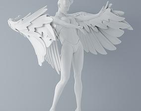 3D print model Evil angel