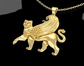 COAT ARMS CITY SAMARKAND Pendant Jewelry 3D print model