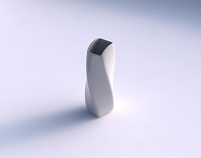 3D print model Vase twisted arc rectangle smooth