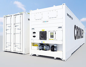 Star Cool - New 40ft Reefer Container 3D