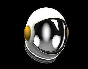 Helmet Power Up 3D asset