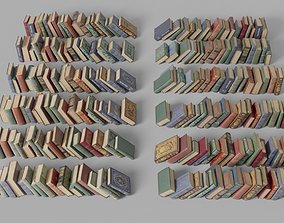 Books 3D model realtime