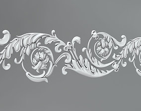 Molding and ornament 48 3D