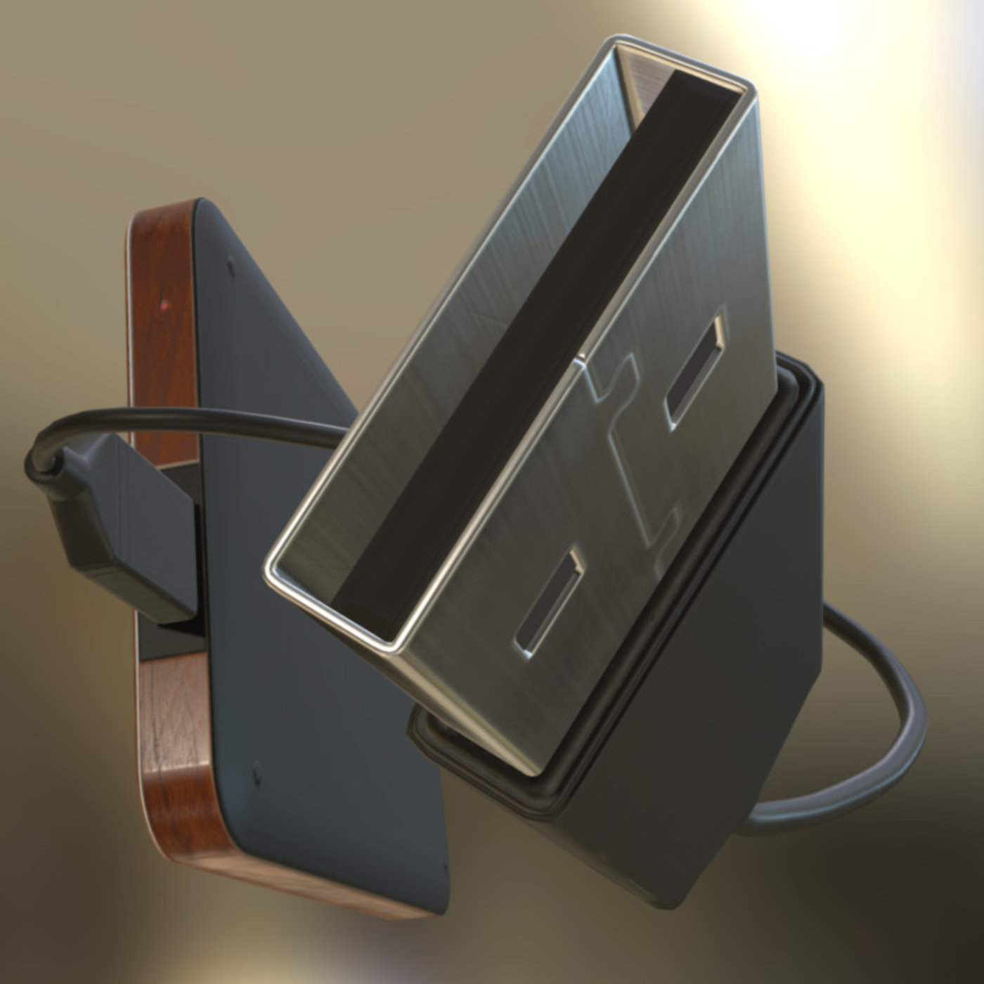 External Hard Drive with rigged USB Cable