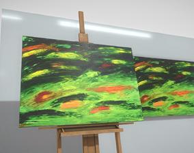 Nameless - Oil Painting 3D asset
