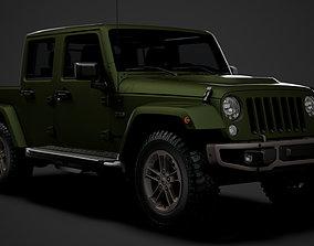 Jeep Gladiator 75th Anniversary JK 2018 3D model