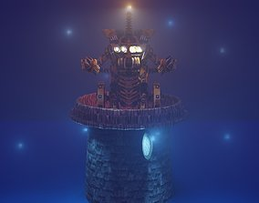 Robot Lighthouse 3D printable model