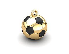 3D printable model Soccer Ball with Enamel Fields
