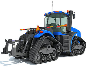 3D Track Tractor New Holland