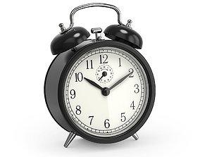 3D Wind up Alarm clock accent