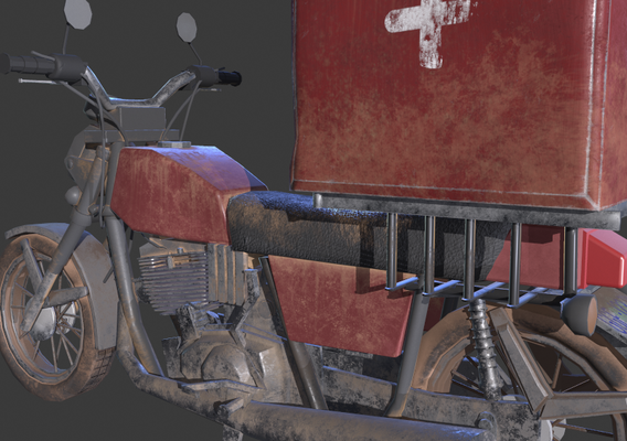 Blood Delivery Bike