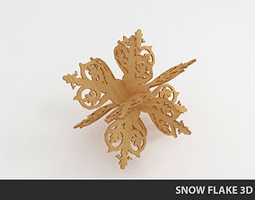 holiday 3D Snow flake