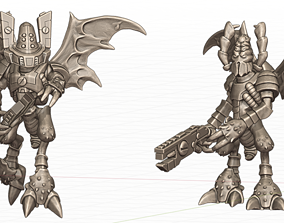Wasp Warriors FROM SPACE 3D print model