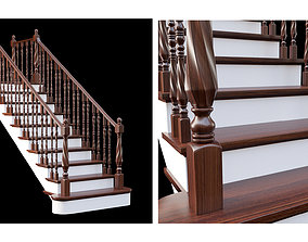 classic staircase-2 3D model