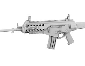3D asset Beretta ARX-160 assault rifle